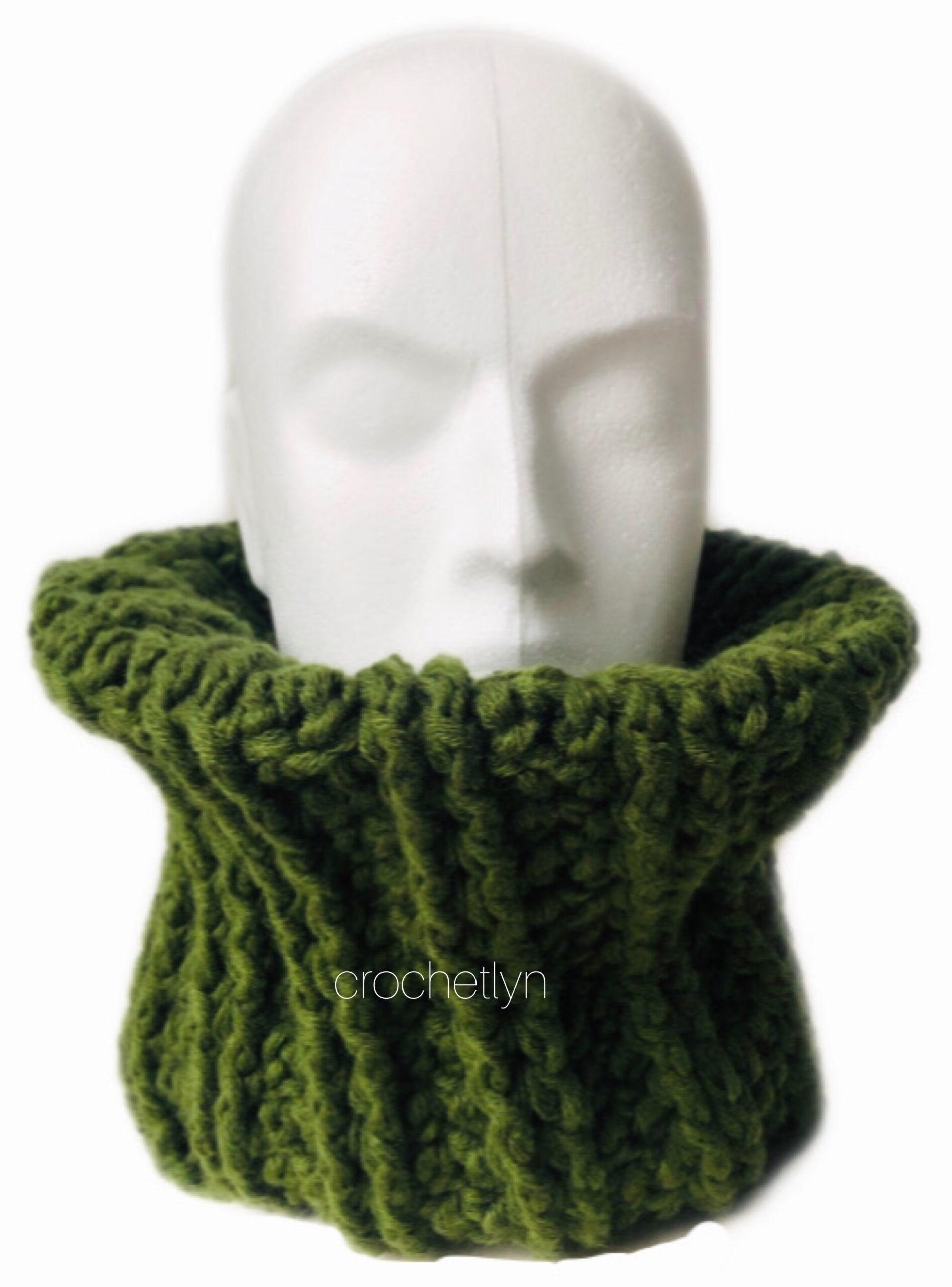 crochet cowl for beginner